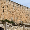 Sealed Huldah Triple Gate which was once the main entrance to the temple from the City of David.