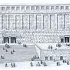 Huldah Gate Illustration