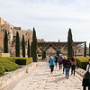 Walking into the Archaeological Park