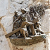 Station 3: Jesus falls the first time under His Cross