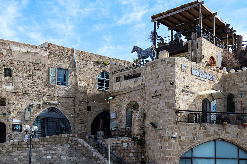 Buildings in Jaffa