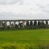 Turkish aqueduct north of Acre.