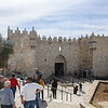 Damascus Gate into Jerusalem