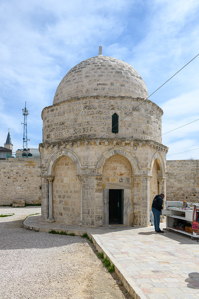 Chapel of the Ascension on Mount of Olives.