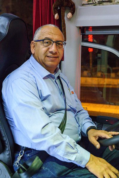 Jamal Botto, our reliable driver.
