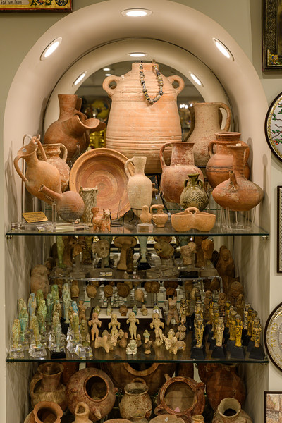 Pottery and other offerings