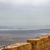 Dead sea from Masada.