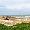Panorama of much of the ruins of Caesarea.