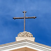 Cross atop Saint Peter's Church in Jaffa