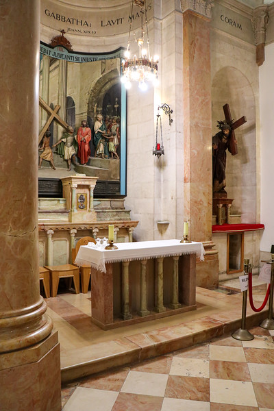 Inside the Church of the Condemnation