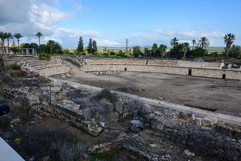 Western side of Amphitheater