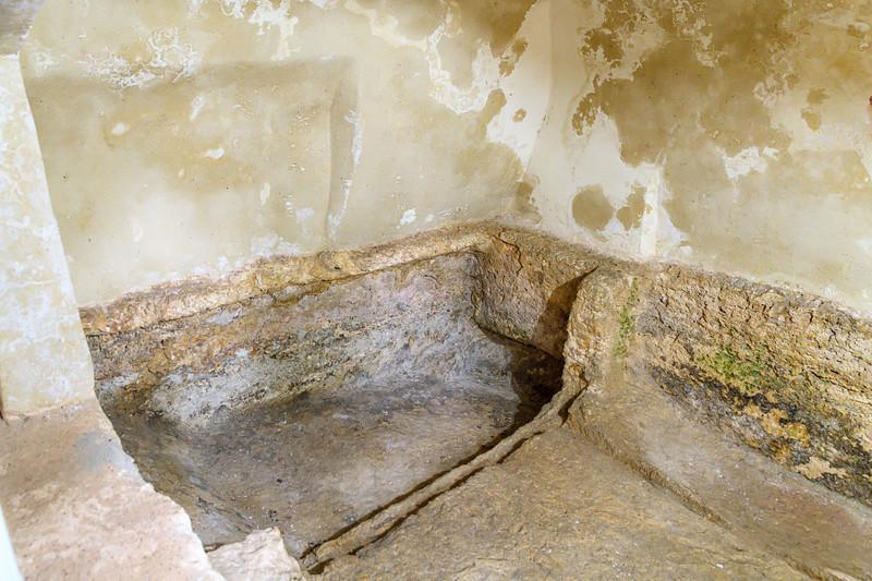 Proported Niche where Jesus was Lain