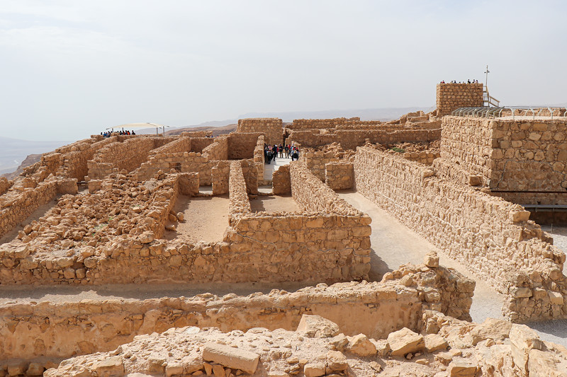 Ruins of the upper portions of the northern palace.