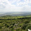 The Salt Road, one of the three paths between the east (e.g. Babylon, Damascus) and the west (Egypt, and Mediterean), as seen from the heights of Mt. Carmel.