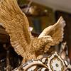 Olive wood eagle