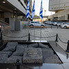 Location where Yitzhak Rabin was assassinated Nov 4, 1995.