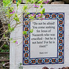 Scripture on the grounds of the Garne Tomb