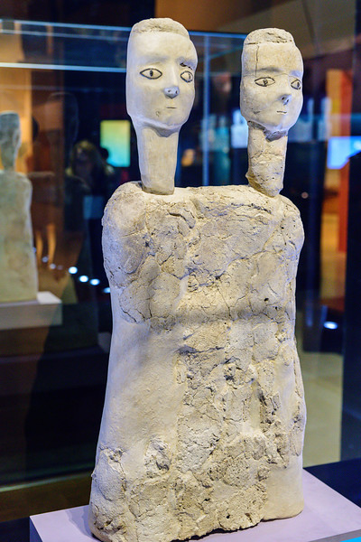 Two-Headed Statue