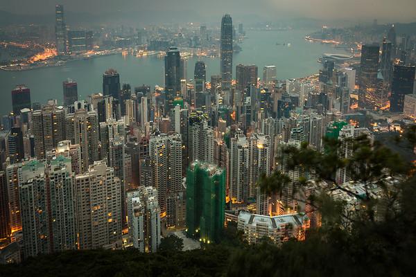 Hong Kong pre dawn......my first day