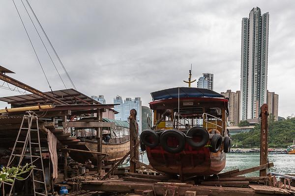 Boat repair dock
