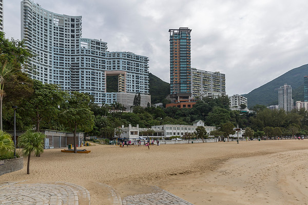 Nice beach.  Am told these residences are the most expensive in all Hong Kong