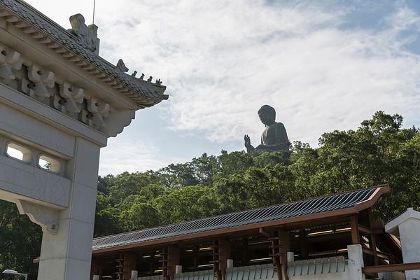 The Big Buddha on his perch