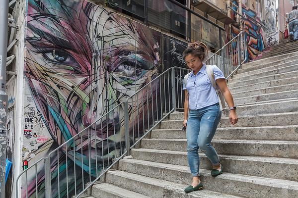 Street art, HK