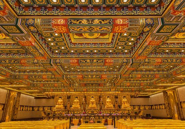 The Hall of Bodhisattva Skanda - Lantau Island near Hong Kong