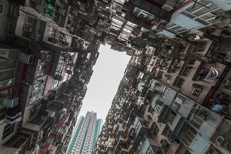 One of hundreds residential estates.....old and new - Hong Kong
