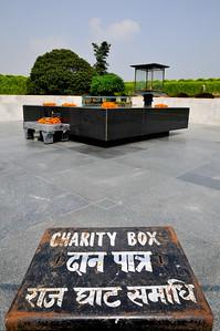 Graf van Mahatma Gandhi.