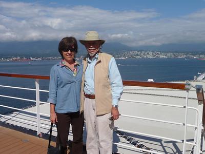 Shirley & John on deck