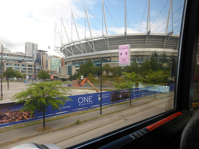 BC Place Stadium downtown Vancouver