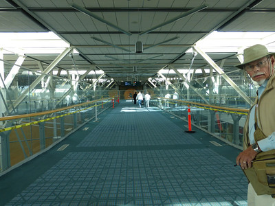 Inside Vancouver airport