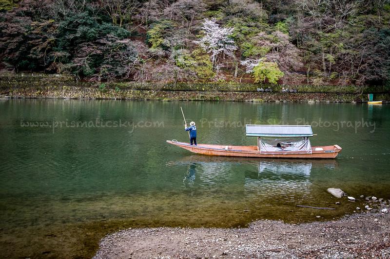 Boat rides on the Katsura River