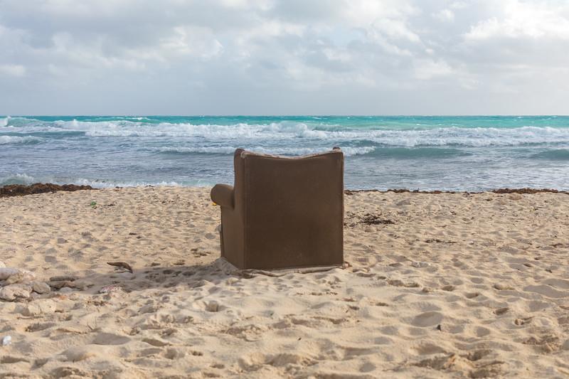 Option 1) Find an easy chair on the beach...