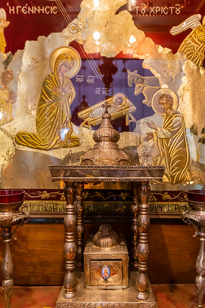 The Church of the Nativity alter