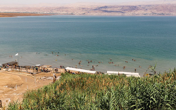 A small (not so nice) resort on the Dead Sea