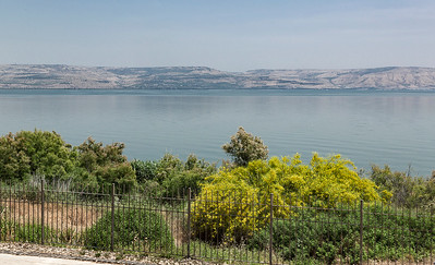 And then the Sea of Galilee:)