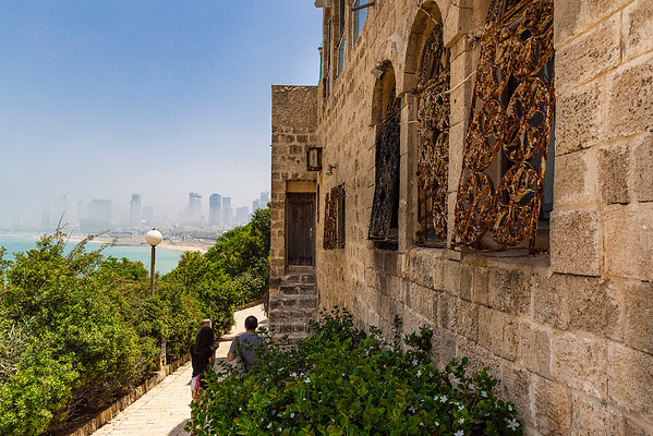 Many residential home are now nicely renovated and some with beautiful views of Tel Aviv