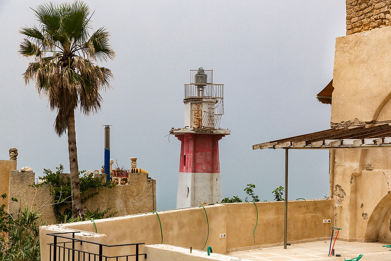 The Old Lighthouse (unfortunately unable to see the Mediterranean due to the fog)