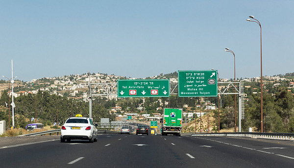 Well, leaving Jerusalem to head to the airport.  But the flight doesn't leave till this evening.  I meet an American  a couple of days earlier who had a rent car and whose flight was also this evening.  We decided to take a drive around Tel Aviv and do a walk around Jaffa since we had the time.