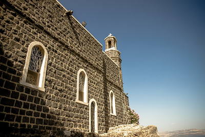 Church of the Primacy of Peter with the Mensa Christi- Tabgha-  Israel