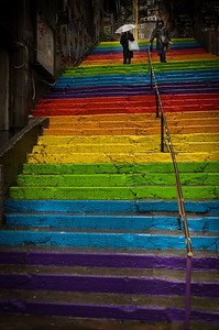 Rainbow Steps Istanbul