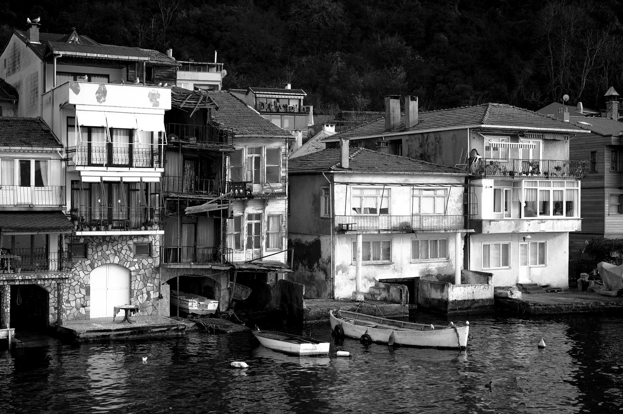 Anadolu Kavagi waterfront houses
