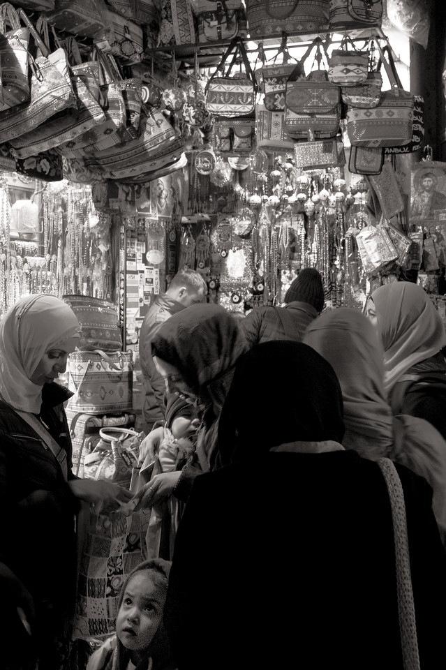 Grand Bazaaar Muslim family