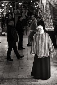 Grand Bazaaar muslim woman