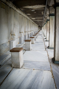 Blue Mosque purifying stations