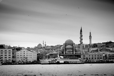 Istanbul Waterfront - new Mosque