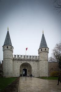 Topkapi Palace outer gates
