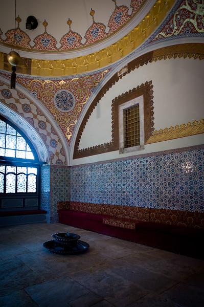 Topkapi Palace inner chamber